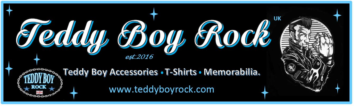 TEDDY BOY ROCK WEBSITE BANNER
